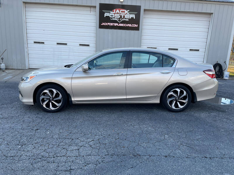2016 Honda Accord for sale at Jack Foster Used Cars LLC in Honea Path SC