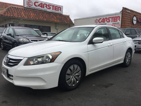 2012 Honda Accord for sale at CARSTER in Huntington Beach CA