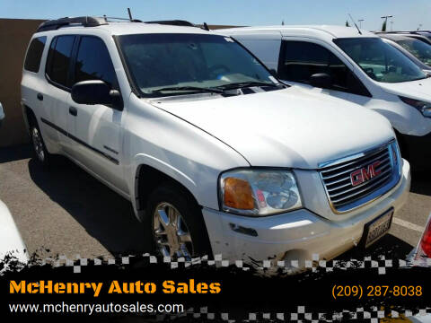 2006 GMC Envoy XL for sale at MCHENRY AUTO SALES in Modesto CA