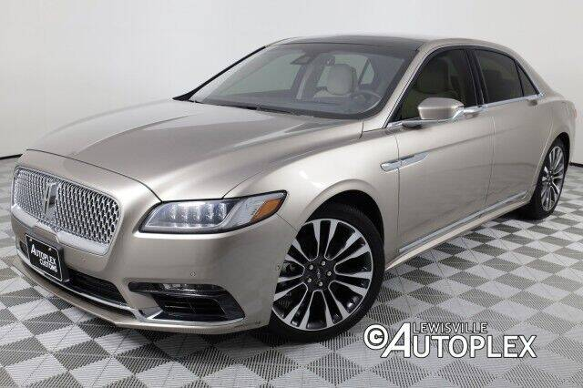 2019 Lincoln Continental for sale in Lewisville, TX