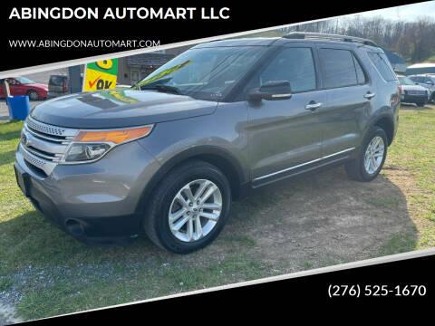 2013 Ford Explorer for sale at ABINGDON AUTOMART LLC in Abingdon VA