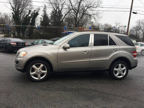 2008 Mercedes-Benz M-Class for sale at Diamond Auto Sales in Lexington NC