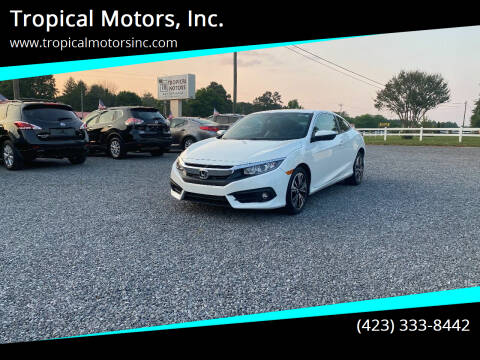 2016 Honda Civic for sale at Tropical Motors, Inc. in Riceville TN