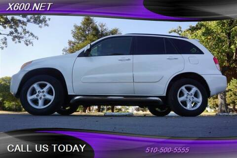 2002 Toyota RAV4 for sale at The Dealer in Fremont CA