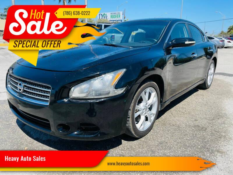 2013 Nissan Maxima for sale at Heavy Auto Sales in Miami FL