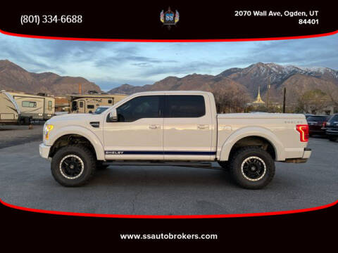 2016 Ford F-150 for sale at S S Auto Brokers in Ogden UT
