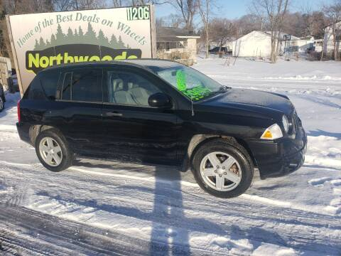 2007 Jeep Compass for sale at Northwoods Auto & Truck Sales in Machesney Park IL