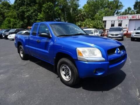 2007 Mitsubishi Raider for sale at DONNY MILLS AUTO SALES in Largo FL