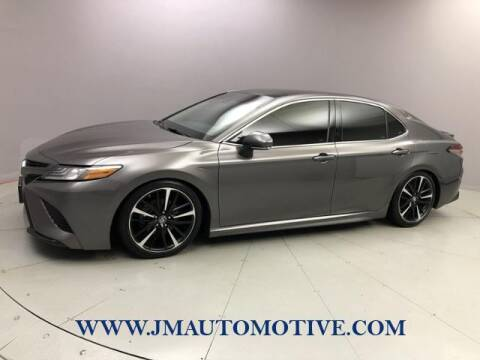 2018 Toyota Camry for sale at J & M Automotive in Naugatuck CT