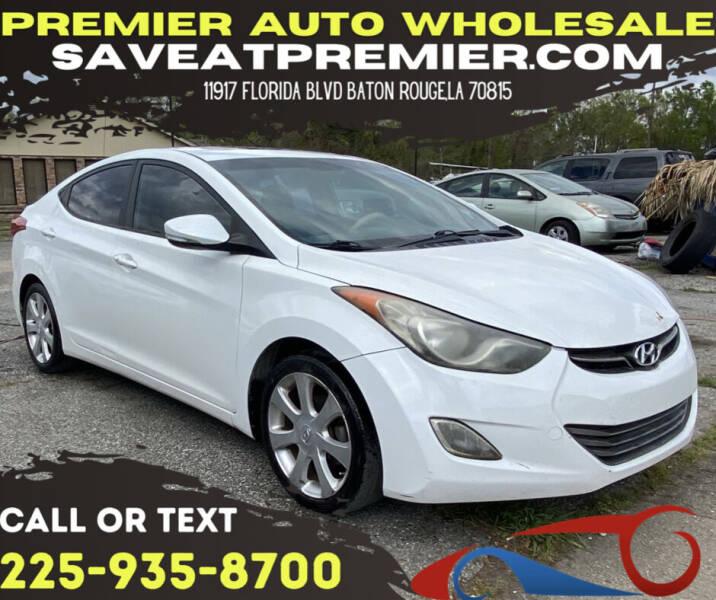 2013 Hyundai Elantra for sale at Premier Auto Wholesale in Baton Rouge LA