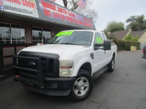 2008 Ford F-250 Super Duty for sale at Quick Auto Sales in Modesto CA