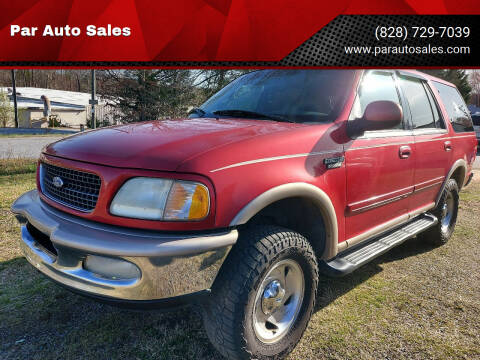 1997 Ford Expedition for sale at Par Auto Sales in Lenoir NC