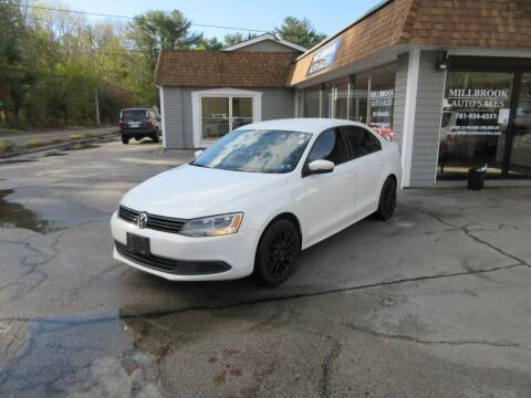 2014 Volkswagen Jetta for sale at Millbrook Auto Sales in Duxbury MA