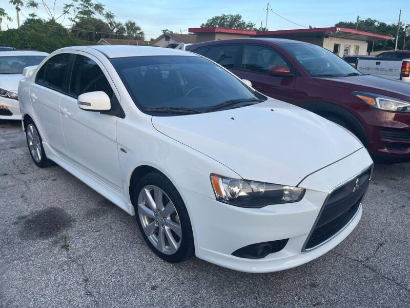 2015 Mitsubishi Lancer for sale at P J Auto Trading Inc in Orlando FL