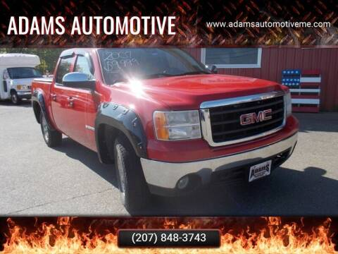 2007 GMC Sierra 1500 for sale at Adams Automotive in Hermon ME