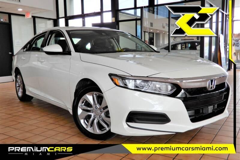 2018 Honda Accord for sale at Premium Cars of Miami in Miami FL