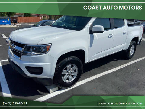 2015 Chevrolet Colorado for sale at Coast Auto Motors in Newport Beach CA