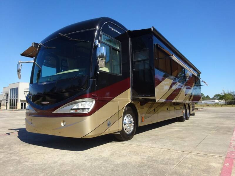 2009 Fleetwood Revolution 42', 1.5 BATH, for sale at Top Choice RV in Spring TX
