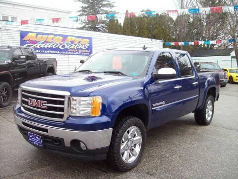 2012 GMC Sierra 1500 for sale at Auto Pro Auto Sales in Lewiston ME
