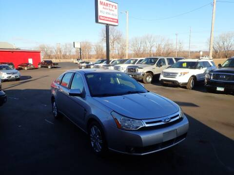 2009 Ford Focus for sale at Marty's Auto Sales in Savage MN