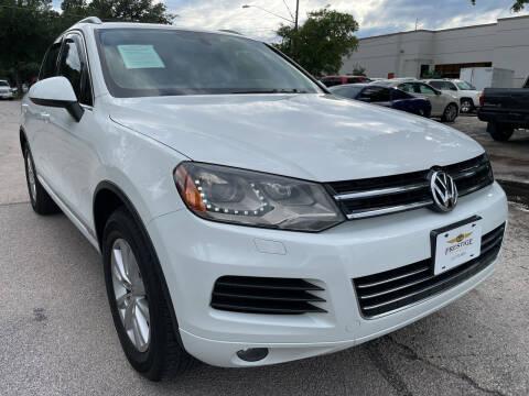 2013 Volkswagen Touareg for sale at PRESTIGE AUTOPLEX LLC in Austin TX