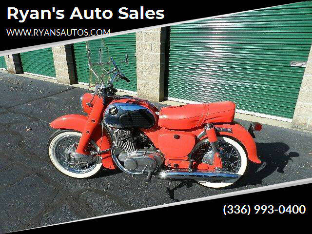 1962 Honda Dream 250  Motorcycle for sale at Ryan's Auto Sales in Kernersville NC