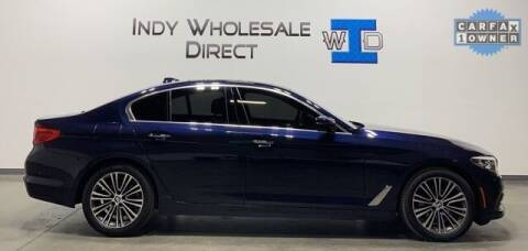 2018 BMW 5 Series for sale at Indy Wholesale Direct in Carmel IN