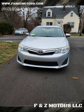 2014 Toyota Camry for sale at F & Z MOTORS LLC in Waterbury CT