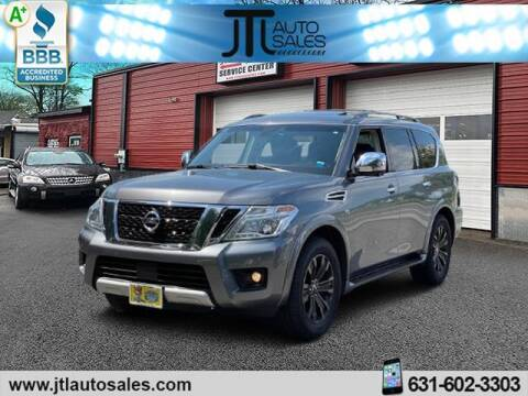 2017 Nissan Armada for sale at JTL Auto Inc in Selden NY
