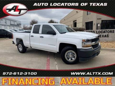 2018 Chevrolet Silverado 1500 for sale at AUTO LOCATORS OF TEXAS in Plano TX