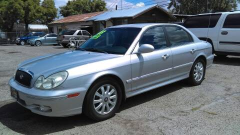 2003 Hyundai Sonata for sale at Larry's Auto Sales Inc. in Fresno CA