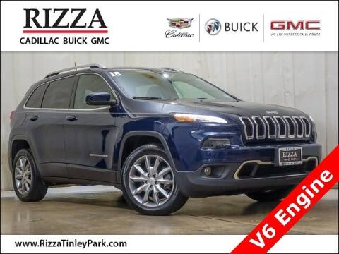 2018 Jeep Cherokee for sale at Rizza Buick GMC Cadillac in Tinley Park IL