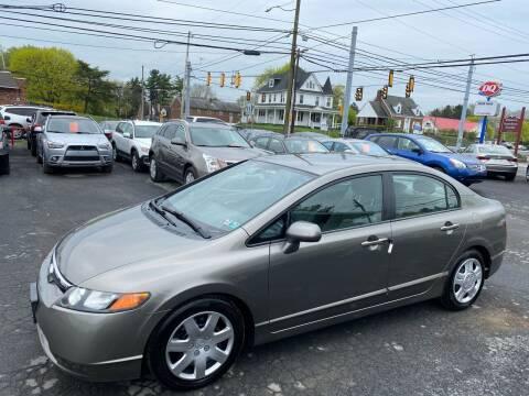 2006 Honda Civic for sale at Masic Motors, Inc. in Harrisburg PA