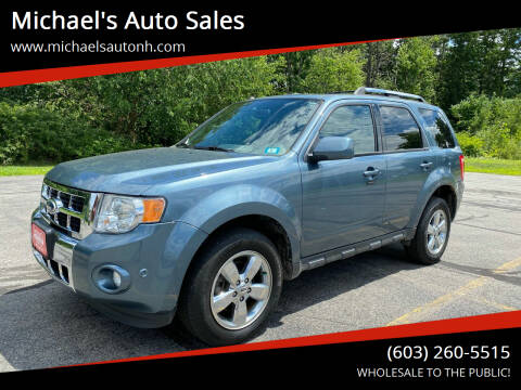 2012 Ford Escape for sale at Michael's Auto Sales in Derry NH
