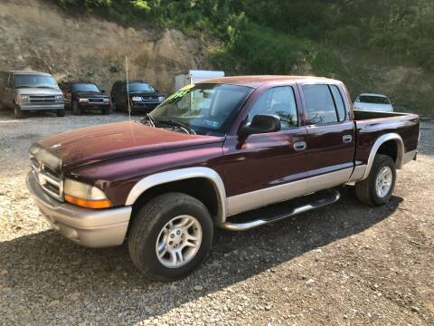 2003 Dodge Dakota for sale at Hutchys Auto Sales & Service in Loyalhanna PA