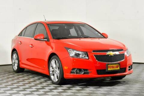 2014 Chevrolet Cruze for sale at Chevrolet Buick GMC of Puyallup in Puyallup WA
