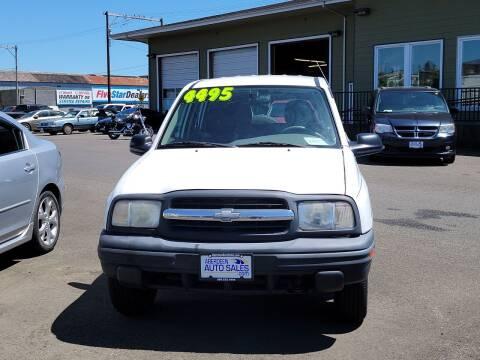 2000 Chevrolet Tracker for sale at Aberdeen Auto Sales in Aberdeen WA