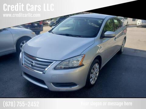 2015 Nissan Sentra for sale at Credit Cars LLC in Lawrenceville GA