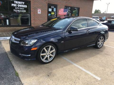 2012 Mercedes-Benz C-Class for sale at Bankruptcy Car Financing in Norfolk VA