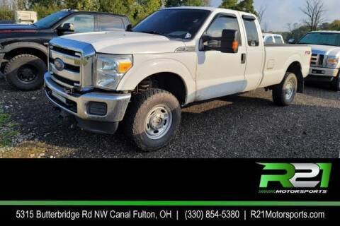 2013 Ford F-250 Super Duty for sale at Route 21 Auto Sales in Canal Fulton OH