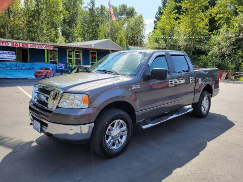 2007 Ford F-150 for sale at HIGHLAND AUTO in Renton WA