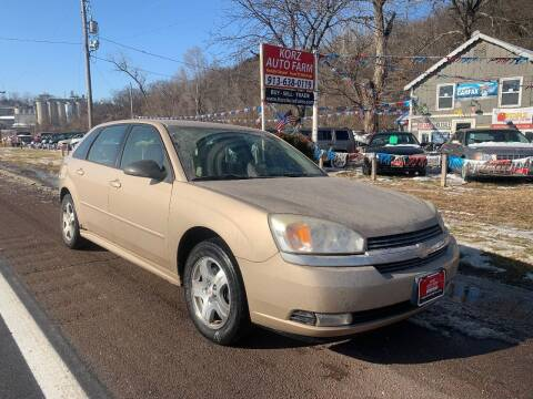 2004 Chevrolet Malibu Maxx for sale at Korz Auto Farm in Kansas City KS
