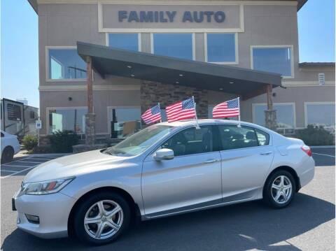 2015 Honda Accord for sale at Moses Lake Family Auto Center in Moses Lake WA