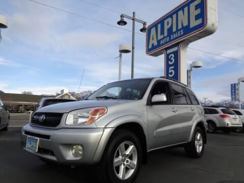2005 Toyota RAV4 for sale at Alpine Auto Sales in Salt Lake City UT