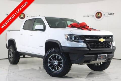 2018 Chevrolet Colorado for sale at INDY'S UNLIMITED MOTORS - UNLIMITED MOTORS in Westfield IN