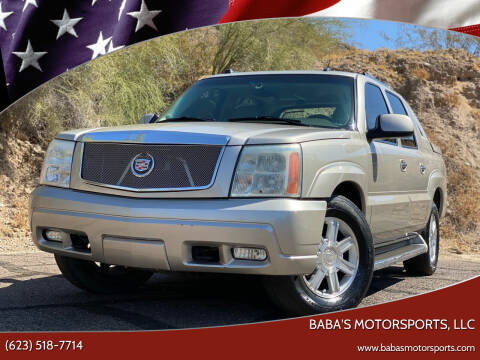 2005 Cadillac Escalade EXT for sale at Baba's Motorsports, LLC in Phoenix AZ