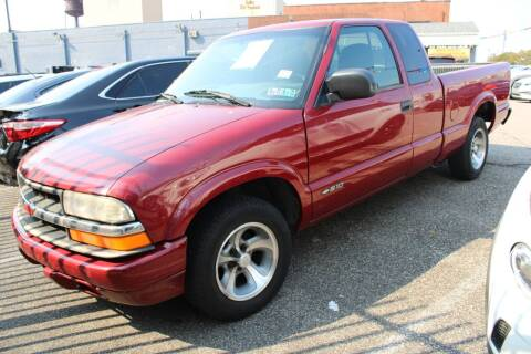 2000 Chevrolet S-10 for sale at EZ PASS AUTO SALES LLC in Philadelphia PA