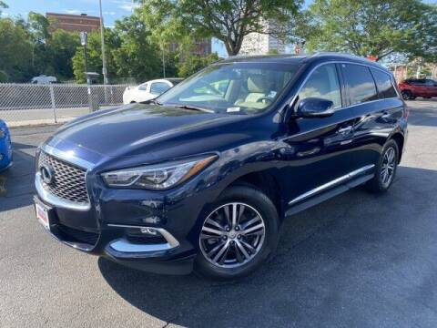 2016 Infiniti QX60 for sale at Sonias Auto Sales in Worcester MA