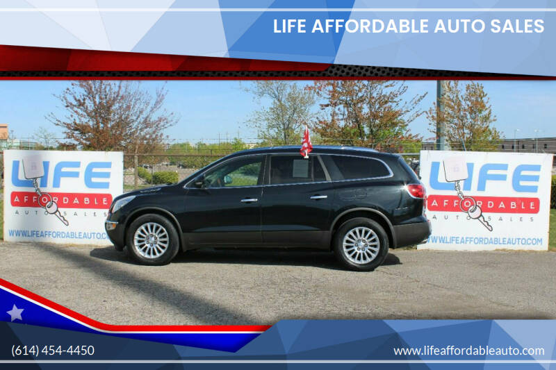 2012 Buick Enclave for sale at LIFE AFFORDABLE AUTO SALES in Columbus OH