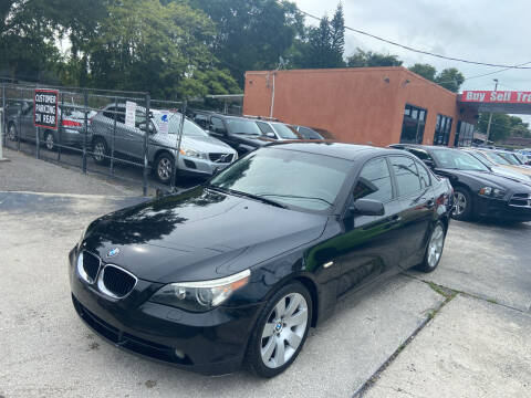 2006 BMW 5 Series for sale at Kings Auto Group in Tampa FL